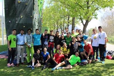 170 estudiants d'INEFC Barcelona fan l'assignatura d'activitats en el medi natural a la Seu d'Urgell