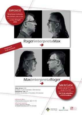 'De la fusta a la forma: dos torners cara a cara', exposició dels torners Max Martín i Roger Pasqual
