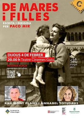 'De mares i filles', un dragonkhan emocional amb Mont Plans i Annabel Totusaus dirigides per Paco Mir