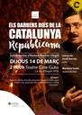 'Els darrers dies de la Catalunya republicana', espectacle teatral basat en l'èxode català de 1939 narrat per Antoni Rovira i Virgili
