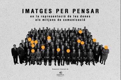 'Imatges per pensar', exposició de l'Observatori de les Dones en els mitjans de comunicació, a la Biblioteca Sant Agustí