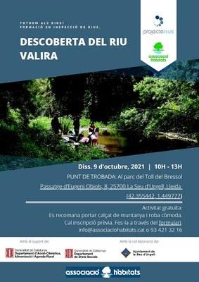 'Vine a conèixer el riu Valira', activitat d'educació ambiental a la Seu d'Urgell