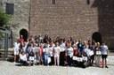 24 parelles de padrins i alumnes del projecte 'Ens escrivim' celebren la trobada de final de curs