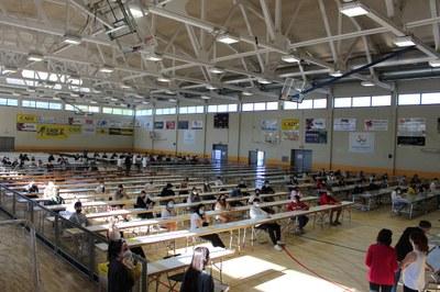 240 alumnes pirinencs comencen les proves d'accés a la universitat a la Seu d'Urgell
