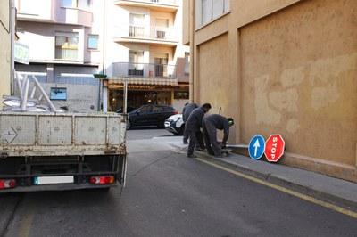 Acabades les obres al Passatge Pollancres i carrer Sant Joan Despí de la Seu d'Urgell