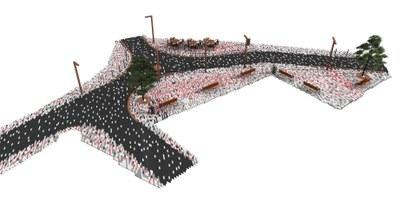 Adjudicats els treballs d'urbanització de la plaça de l'Arbre de Castellciutat