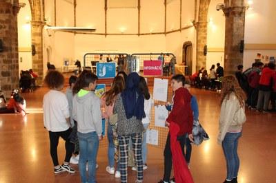 Alumnes de la Seu i Oliana participen en tallers per conèixer l'oferta de l'Oficina Jove de l'Alt Urgell