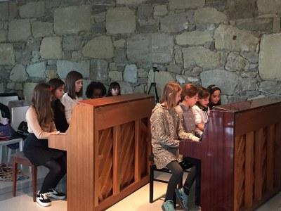 Alumnes de l'Escola Municipal de Música de la Seu d'Urgell participen a la X Sala Piano, a La Garriga de Castelladral
