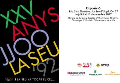 Amb l'exposició 'XXV Anys JJOO La Seu'92. I la Seu va tocar el cel...' , la capital alturgellenca commemora el 25è aniversari d'aquesta fita històrica