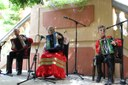 Arrenca la 44a Trobada amb els Acordionistes del Pirineu amb el concert inaugural al jardí de l'Hotel Andria
