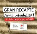 Arrenca la campanya a la Seu i comarca de captació de voluntaris per al Gran Recapte d'Aliments