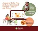 Arrenca la Fira de Sant Ermengol de la Seu d'Urgell de manera virtual amb tastos guiats i cuina del formatge