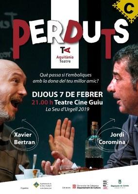 Arriba a la Seu d'Urgell la comèdia teatral de Ramon Madaula, 'Perduts'