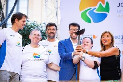 Barcelona, la primera ciutat en rebre la torxa olímpica dels Jocs Special Olympics 2018