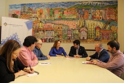 Batalla i Fierro tracten amb la ministra de Cultura d'Andorra la candidatura a la UNESCO