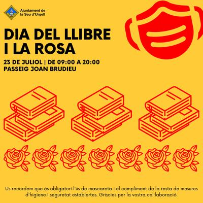 Celebració del Dia del Llibre i a la Rosa a la Seu d'Urgell