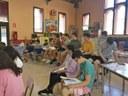 """Comença la 8a edició del Projecte d'Aprenentatge i Servei """"Tots som joves, tots som grans"""""""