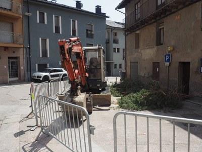 Comença la remodelació de la plaça de l'Arbre de Castellciutat