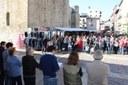 Concentració de rebuig per l'empresonament dels presidents d'Òmnium Cultural i Assemblea Nacional Catalana