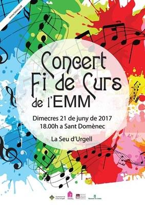 Concert de fi de curs de l'Escola Municipal de Música de la Seu d'Urgell