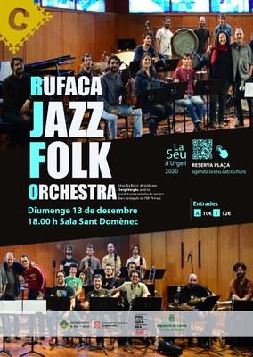 Concert de la big bang Rufaca Folk Jazz Orchestra a la Seu d'Urgell