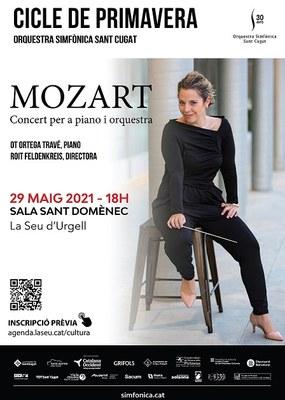 Concert de l'Orquestra Simfònica de Sant Cugat a la Seu d'Urgell amb participació de l'alumnat del Conservatori de Música dels Pirineus