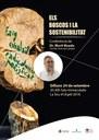 Conferència del Dr. Martí Boada sobre boscos i sostenibilitat