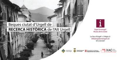 Convocada la primera beca Ciutat d'Urgell de recerca històrica sobre la comarca de l'Alt Urgell