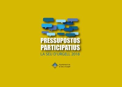 Del 18 al 24 de juny, els urgellencs i urgellenques podran votar als Pressupostos Participatius