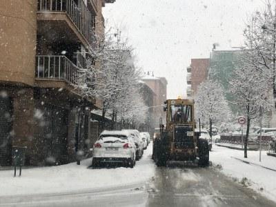 Demà dimarts no hi haurà mercat setmanal a la Seu d'Urgell per l'afectació de la nevada