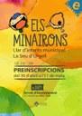 Dilluns 30 d'abril s'obren les preinscripcions per a la llar d'infants municipal 'El Minairons'