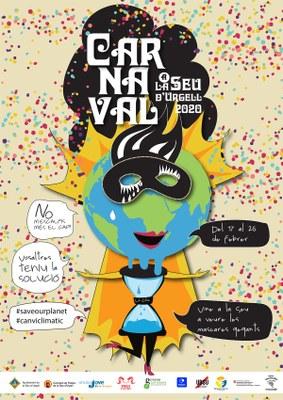 El Carnaval de la Seu d'Urgell s'uneix al clam mundial per salvar el clima