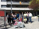 El Consell Municipal d'Adolescents de la Seu d'Urgell realitza una acció per reivindicar un ús cívic de la plaça del Codina
