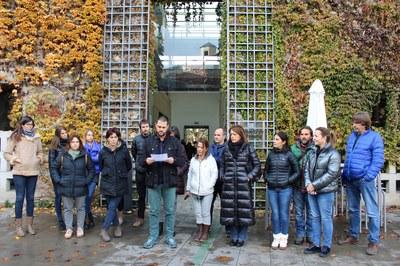 El Consorci d'Atenció a les Persones de l'Alt Urgell s'afegeix a l'aturada dels Serveis Socials de Catalunya en contra la violència ocupacional