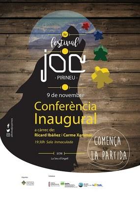 El creador del primer joc de rol a l'Estat inaugura la tercera edició del Festival del Joc del Pirineu