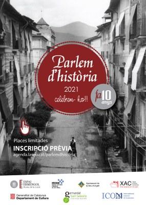 El 10è Parlem d'Història proposa 4 conferències presencials i per streaming i 2 visites guiades per la Seu d'Urgell