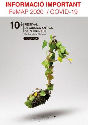 El Festival de Música Antiga dels Pirineus cancel·la seva edició de 2020