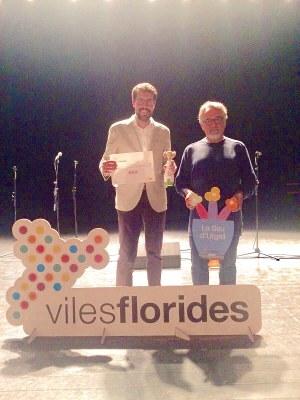 El jurat de Viles Florides distingeix a la Seu d'Urgell amb 3 flors d'honor