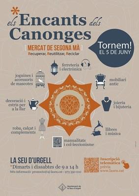 El mercat de segona mà de la Seu d'Urgell es tornarà a celebrar a partir del juny