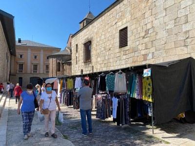 El mercat setmanal de la Seu d'Urgell torna al centre històric de la ciutat