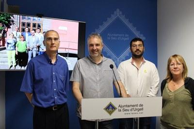El nou govern municipal de l'Ajuntament de la Seu d'Urgell crea la figura del Vicealcalde i presenta tres noves regidories