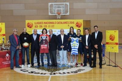 El Palau d'Esports acollirà diumenge la Final de la Lliga Catalana Femenina entre l'Spar Citylift Girona i el Cadí la Seu