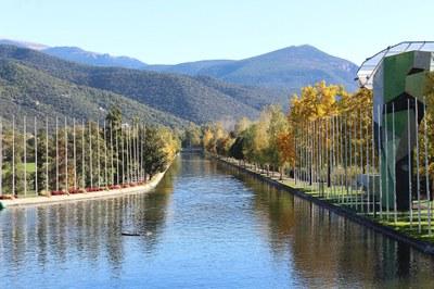 El Parc del Segre, primera instal·lació pública d'aigües braves que funciona amb plaques d'energia solar