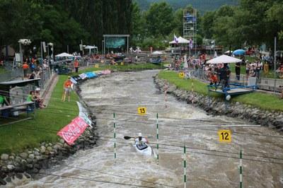 El Parc Olímpic del Segre acollirà la quarta competició de la temporada 2015 de la Copa del Món de Canoe Eslàlom