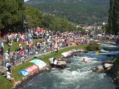 El Parc Olímpic del Segre acull aquest cap de setmana el Campionat d'Espanya de Piragüisme