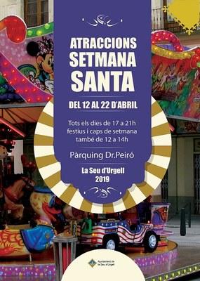 El pàrquing del Dr. Peiró torna a acollir les tradicionals firetes de Setmana Santa