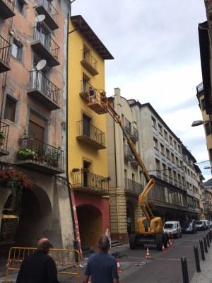 El ple de l'Ajuntament de la Seu preveu aprovar les bases per les subvencions per a la rehabilitació i pintura de porxos i façanes del centre històric