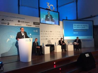 El president de la Generalitat, Quim Torra, anuncia que  Barcelona acollirà el súper ordinador europeu MareNostrum5