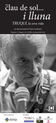 El productor audiovisual Toni Lombarte estrenarà el seu documental 'En clau de sol i lluna. Truqui, la seva vida' a la Seu d'Urgell