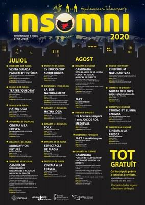 El programa d'oci nocturn Insomni ofereix una vintena d'activitats aquest estiu a la Seu d'Urgell